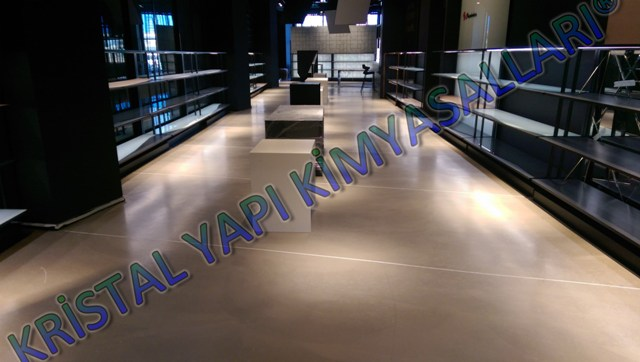Mikro beton Paşabahçe mağazası Tuzla İstanbul