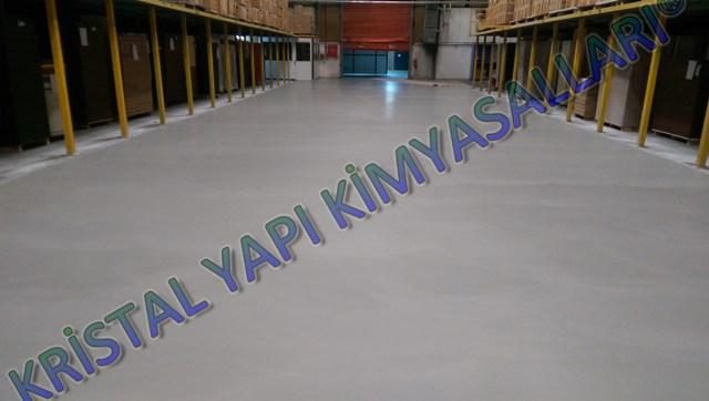 Mikro beton zemin kaplama Gentaş fabrikası Bolu