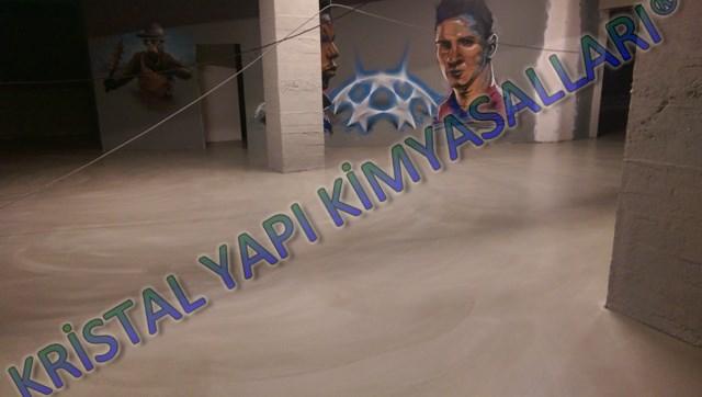 Dekoratif şap uygulaması Florya İstanbul