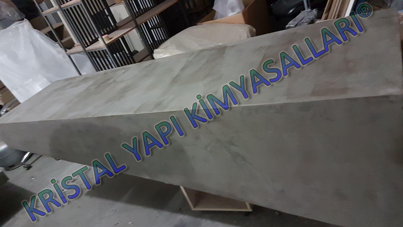dekoratif+masa+kaplama+uygulaması, beton+görünümlü+masa+kaplama+uygulaması, kristalwall+bton+görünümlü+masa+kaplama+fiyatları