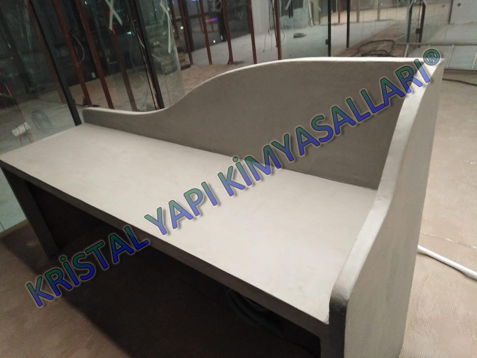 dekoratif beton masa kaplaması | betonla masa kaplama | dekoratif masa kaplamaları